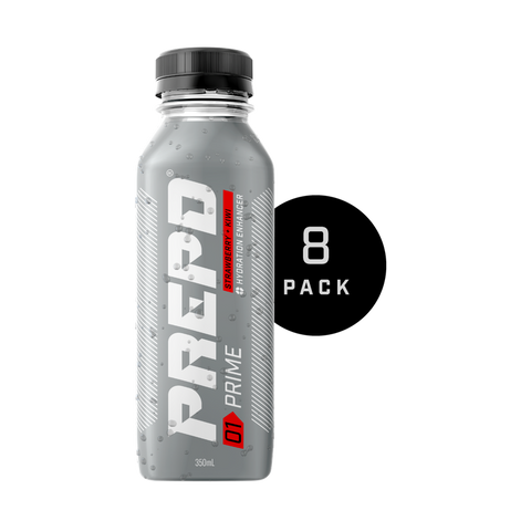 PREPD PRIME DRINK – STRAWBERRY & KIWI ( 8 BOTTLES )