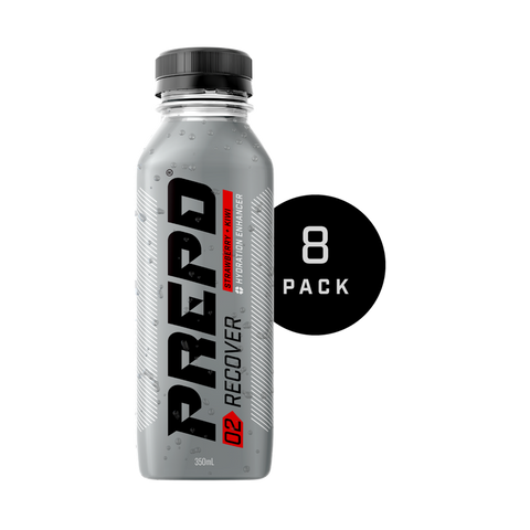 PREPD RECOVER DRINK – STRAWBERRY & KIWI ( 8 BOTTLES )