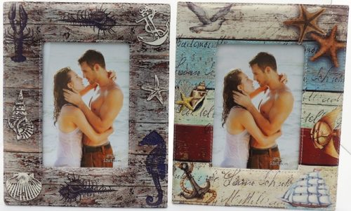 Beach Photo Frame - Rustic Vintage Charm