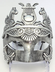 Mask Egyptian Silver - Rustic Vintage Charm