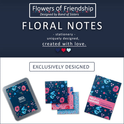FLORAL NOTES: NEW FLOWERS OF FRIENDSHIP STATIONERY