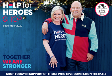 Help for Heroes Shop September 2020