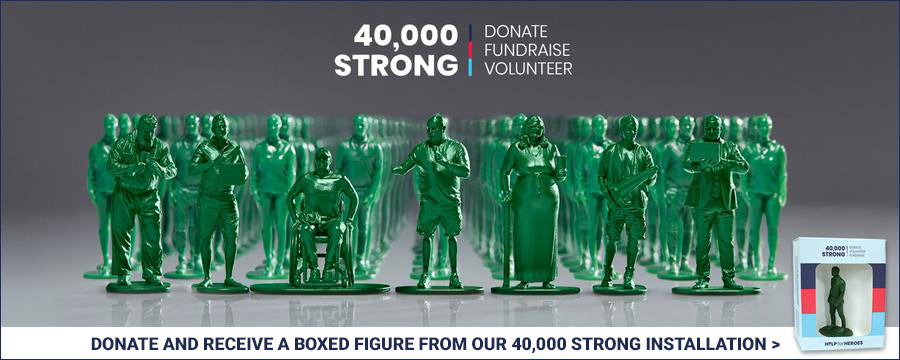 Donate to help our wounded stand strong
