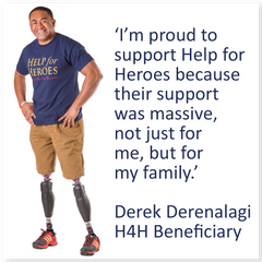 Derek H4H Beneficiary