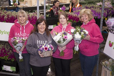 Flowers for Heroes with Band of Sisters
