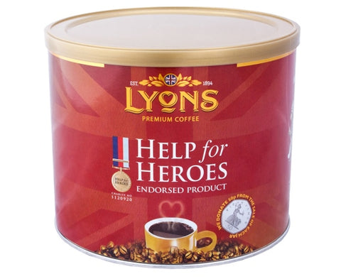 Help for Heroes Lyons Coffee 500g