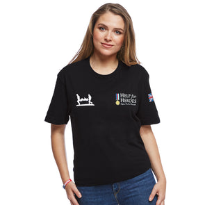 Help for Heroes Black Heritage T-Shirt