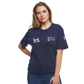 Help for Heroes Navy Heritage T-Shirt