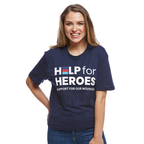Help for Heroes Navy Honour T-Shirt