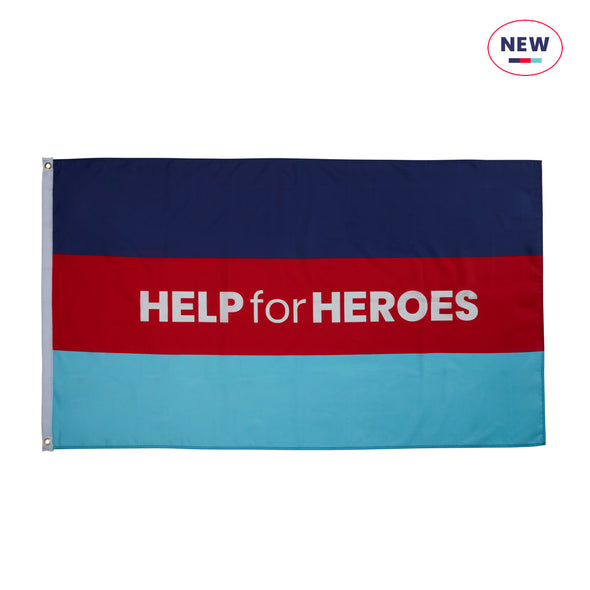 Help for Heroes Tri Flag