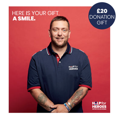 Help for Heroes £20 Donation Gift