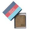 Help for Heroes Brown Union Jack Leather Wallet