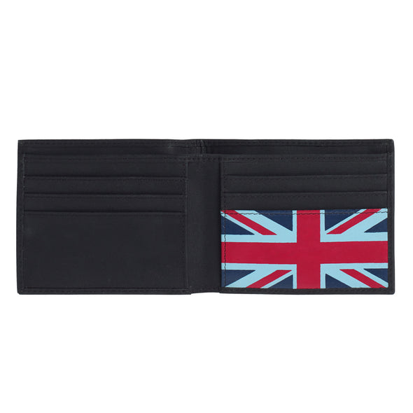 Help for Heroes Black Bifold Leather Wallet