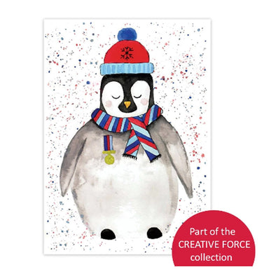 Help for Heroes Antarctic Arthur Christmas Cards - pack of 10