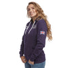 Help for Heroes Autumn Purple Heritage Zipped Hoody