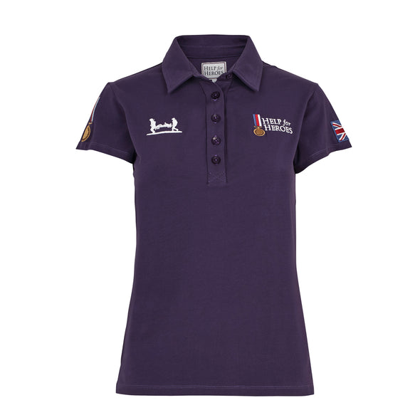 Help for Heroes Autumn Purple Heritage Polo