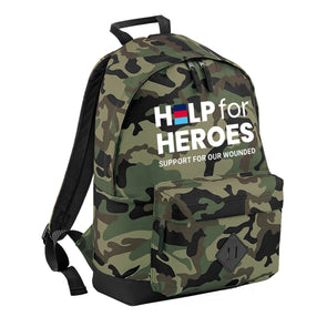 Help for Heroes Green Camo Honour Backpack