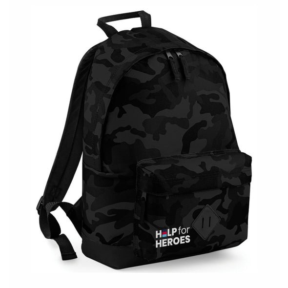 Help for Heroes Midnight Camo Honour Pocket Backpack