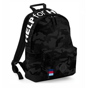 Help for Heroes Midnight Camo Honour Backpack