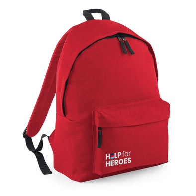 Red Honour Pocket Backpack