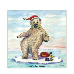 Help for Heroes North Pole Dancer Christmas Cards