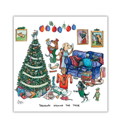Help for Heroes Presents Around the Tree Christmas Cards