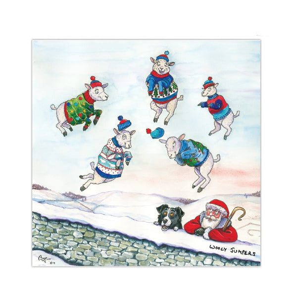 Help for Heroes Wooly Jumper Christmas Cards