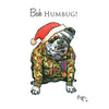 Help for Heroes Christmas Card - Bah Humbug