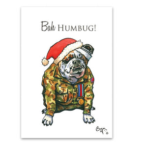 Help for Heroes Bryn Parry: Bah Humbug Christmas Cards - Pack of 10