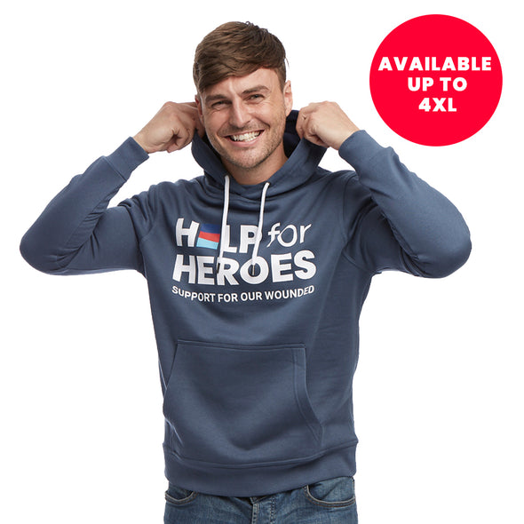 Help for Heroes Bearing Sea Pullover Hoody