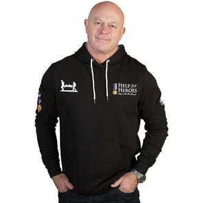 Help for Heroes Black Classic Pullover Hoody