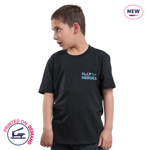 Children's Black Small Honour T-Shirt