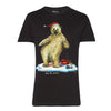 Help for Heroes Black North Pole Dancer T-Shirt