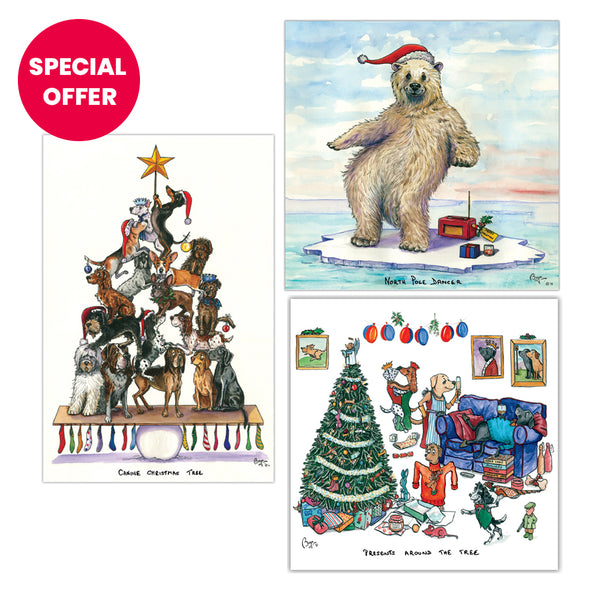 Help for Heroes Bryn Parry Christmas Card Set