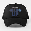 Help for Heroes Black Hero Up Trucker Baseball Cap