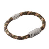 Help for Heroes Camo Leather ID Bracelet