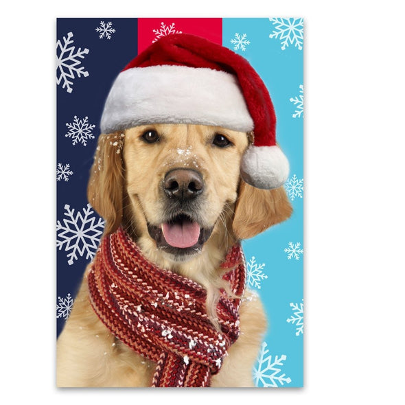 Help for Heroes Christmas Retriever Christmas Cards - Pack of 10