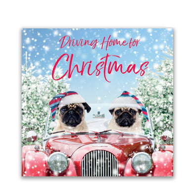 Help for Heroes Christmas Pugs Christmas Cards