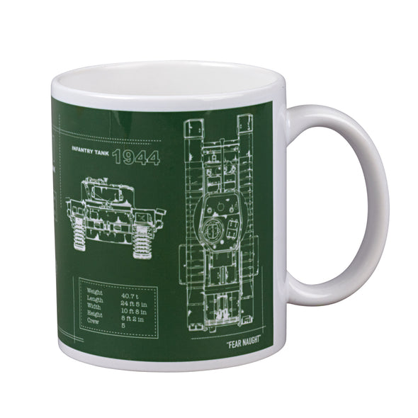 Help for Heroes Combat Green Churchill Mug