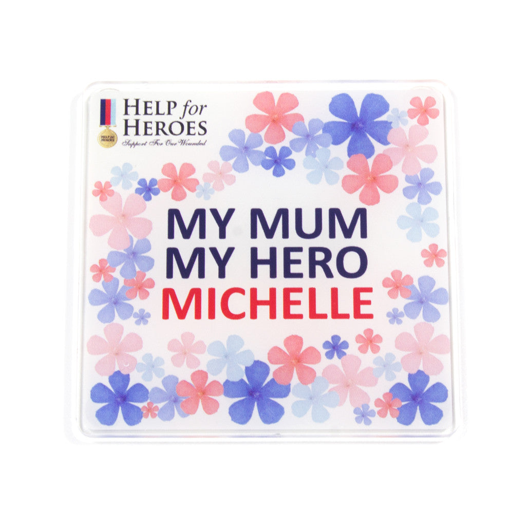 Personalised Mother's Day Coaster