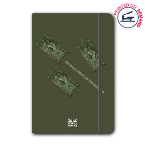Help for Heroes Comet Tank Notebook
