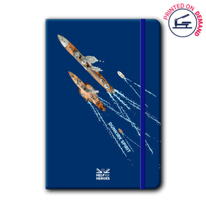 Help for Heroes Dunkirk Spirit Notebook