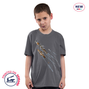 Children's Dunkirk Spirit Charcoal T-Shirt