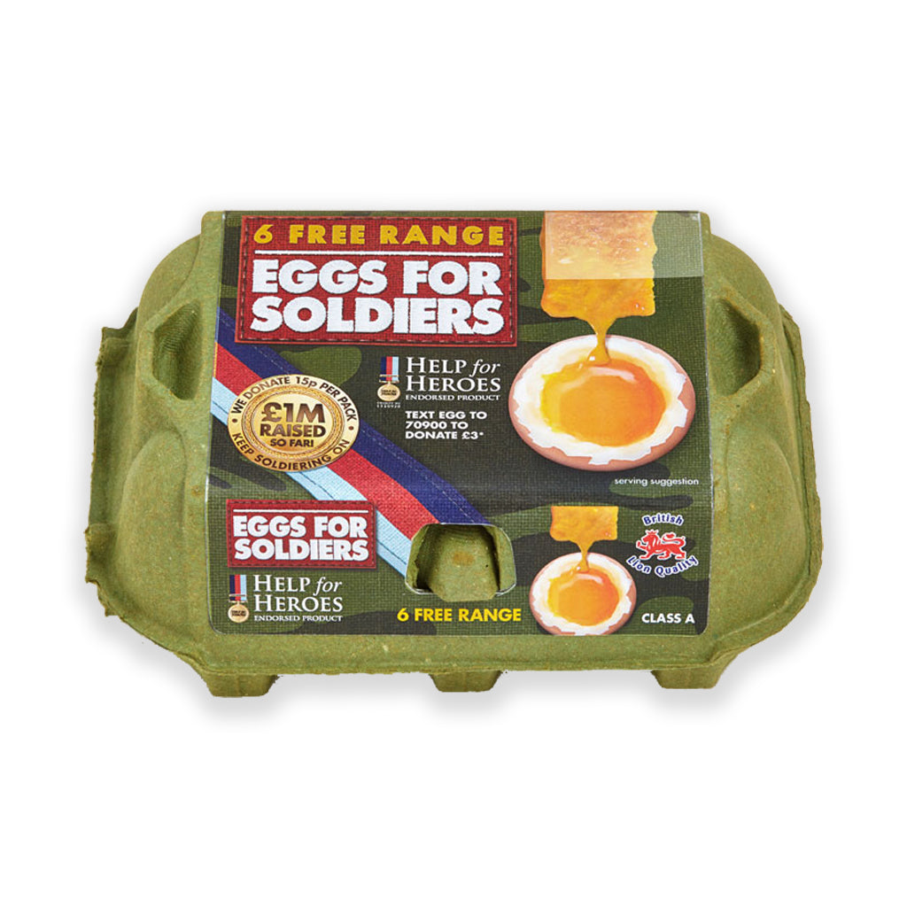Help for Heroes Eggs for Soldiers