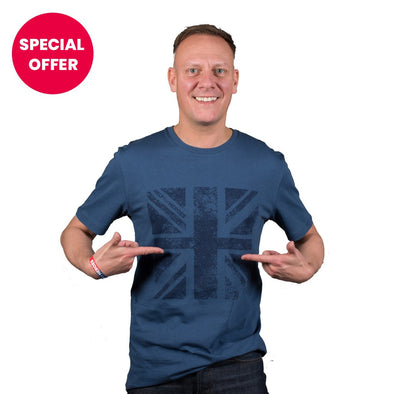 Help for Heroes Ensign Blue Plymouth Flag T-Shirt