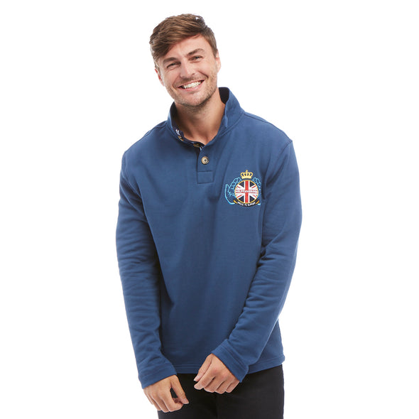 Help for Heroes Ensign Blue Triumph Sweatshirt