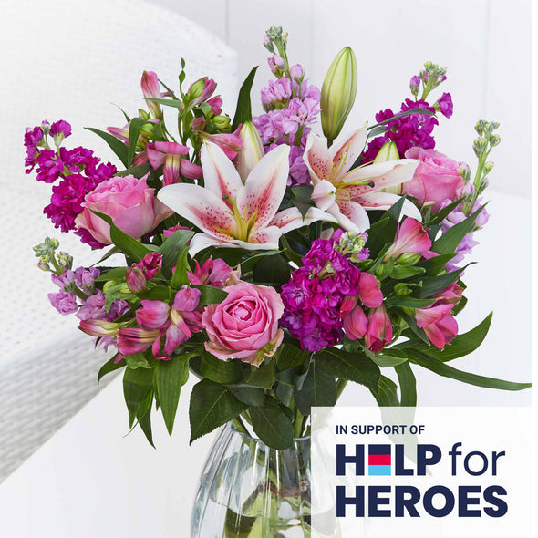 Flowers for Heroes - Loving Support