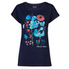 Help for Heroes Navy Flowers of Friendship T-shirt