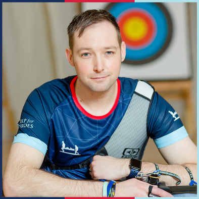 Help for Heroes Beneficiary, Gavin has turned his life around.