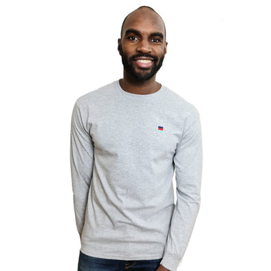 Help for Heroes Grey Marl Henley T-Shirt